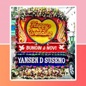 Bunga Papan Wedding Jakarta Super